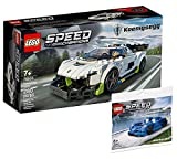 Collectix Lego Set - Speed Champions Koenigsegg Jesko 76900 + Speed Champions McLaren Elva 30343 (Polybag)