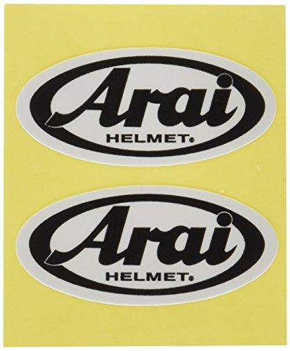 Arai Helm-Aufkleber-Set, Blau, 2 Stück