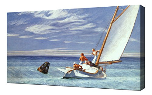 Pingoo Prints Edward Hopper - Ground Swell - Impresión En Lienzo
