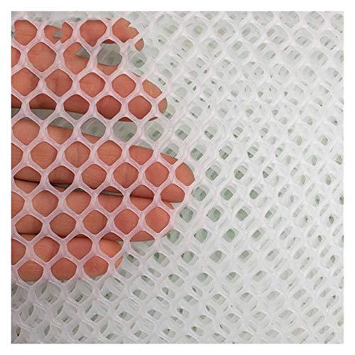 LXF JIAJU Aislamiento Balcón Protección Neto Macetas Redes De Seguridad Ventana De Seguridad Net Pet Net Espesar De Plástico Red (Color : Clear, Size : Medium Hole 1.2 * 1 Meter)