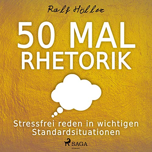 50 mal Rhetorik audiobook cover art
