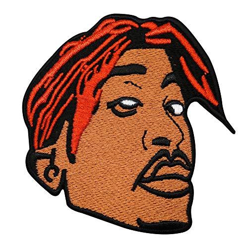 Finally Home 2Pac Tupac Patch, Bügelflicken | Rap Hip Hop 90s Retro Patches zum Aufbügeln, Flicken, Aufnäher