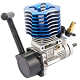 ZCromance 18 Engine Nitro Power 2.74cc with Pull Starter Spark-Plug 02060 for 1/10 1/8 RC Model Car Buggy HSP Himoto