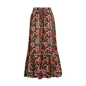 Scotch & Soda Maison Scotch Women's Printed Maxi Skirt
