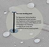 Raffles Covers NW-RFS110110 Abdeckung für niedrigen Gartentisch 110 x 110