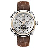 Ingersoll Men's The Michigan Automatic Watch with Brown Dial and Brown Leather Strap I01103