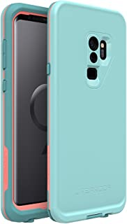 Lifeproof FRĒ Series Waterproof Case for Samsung Galaxy S9+ - Retail Packaging - Wipeout (Blue Tint/Fusion Coral/Mandalay Bay)