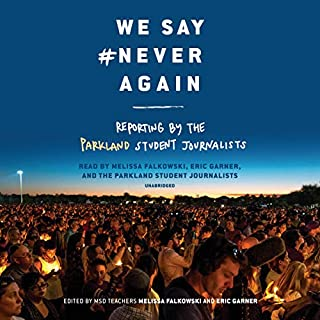 We Say #NeverAgain audiobook cover art