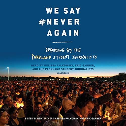 We Say #NeverAgain audiobook cover art