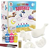 Unicorn Gifts for Girls. Arts & Crafts Paint Your Own Rainbows & Awesomeness Squishies DIY Kit. Gifts for Girls Top Christmas Toys. Includes Large Slow-Rise Squishies (Unicorn Squishy Kit)