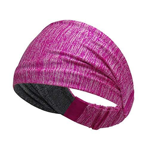 DYL&CDAI Dames yoga sport hoofdband, running sport reizen fitness elastische zweet absorptie anti-slip stijl hoofdband basketbal hoofdband hoofdband geschikt voor alle mannen en vrouwen