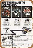 KODY HYDE Metall Poster - Dodge Chrysler - Vintage