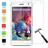 Owbb Glas Bildschirm Schutzfolie für Wiko Highway 4G Smartphone Screen Panzerglas Protector Hartglas Schutzfolie Ultar Clear