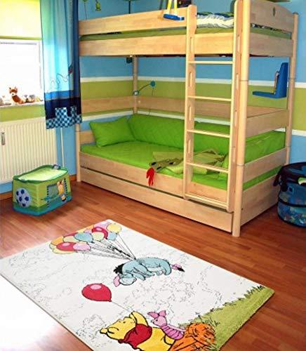 mauro Tapis pour Chambre D'Enfant-Produit Original Disney Winnie The Pooh Mesure Cm 120X170 Hauteur du Velour : 13 MM