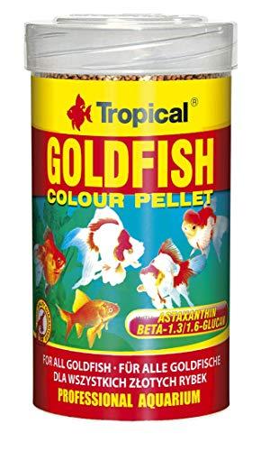 Tropical Goldfish Colour Pellet - Pellet de pienso intensificador de Color, 1 Unidad (1 x 1 l)