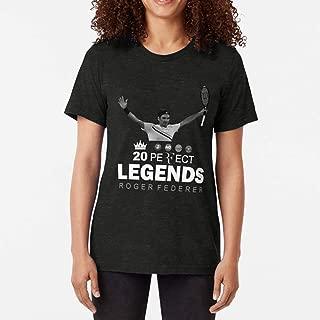 Perfect Legend Roger Federer 2018 Tennis Triblend TShirtT Shirt Premium, Tee shirt, Hoodie for Men, Women Unisex Full Size.