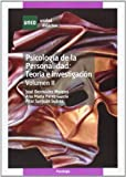 Psicología de La Personalidad: Teoría E Investigación .Volumen II (UNIDAD DIDÁCTICA)