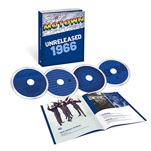 Motown Unreleased 1966 [Limited Edition 4 CD Box Set]