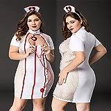 asdsad Porno Femme Plus Taille Taille sous-Vêtements Sexy Infirmière Uniforme Cosplay Lingerie Ensemble Costumes de vêtements érotiques pour Sexe Rôle Play Costumes