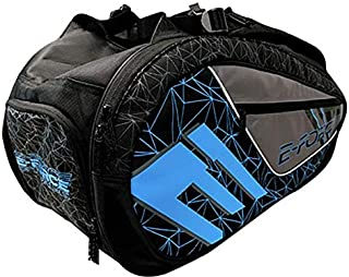 E-Force Racquetball Club Bag (Black with Blue Graphics)