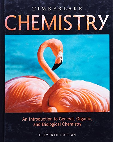 Chemistry An Introduction To General Organic And Biological Chemistry 11th Edition