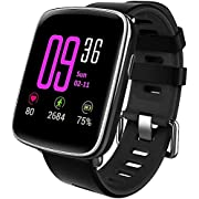 Willful Montre Connectée Bracelet Connecté Podometre Cardio Homme Femme Enfant Smart Watch Android iOS Smartwatch Etanche IP68 Sport Running Sommeil SMS Appel pour iPhone Xiaomi Samsung Sony Huawei