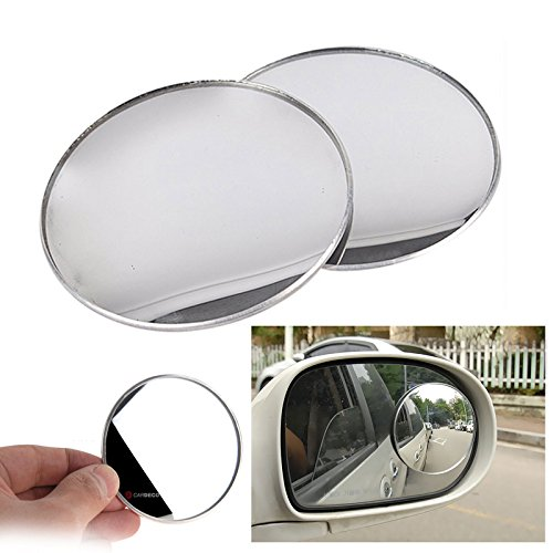 "3inch 2pcs Cardeco Puzzle Plus Alpha Circle Mirror Blind Spot Rear Side View Rearview for Car Truck Accessories 75mm 3"" 2p Set"