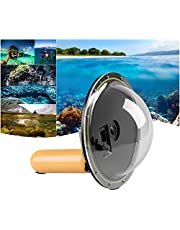 "Andoer 6"" Semicircular Underwater 5M Waterproof Cover Acrylic Housing Diving Lens Dome Port with Floating Handheld Grip for Gopro Hero 4/3+/3 Sports Camera Action Cam"