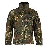 Mil-Tec Softshell Jacket SCU 14 flecktarn - Spot tarn, L