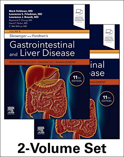 Compare Textbook Prices for Sleisenger and Fordtran's Gastrointestinal and Liver Disease- 2 Volume Set: Pathophysiology, Diagnosis, Management 11 Edition ISBN 9780323609623 by Feldman MD, Mark,Friedman MD, Lawrence S.,Brandt MD, Lawrence J.