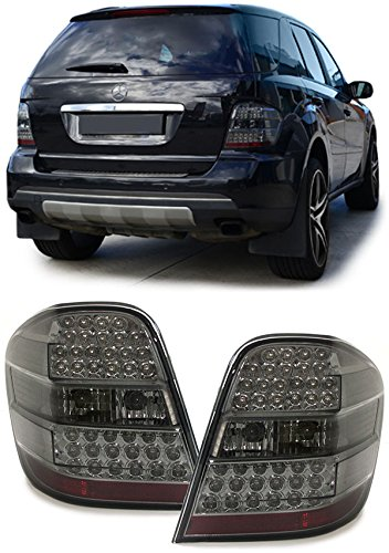 Carparts-Online 12737 LED Rückleuchten schwarz