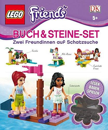 LEGO Friends Buch & Steine-Set: Zwei Freundinnen auf Schatzsuche