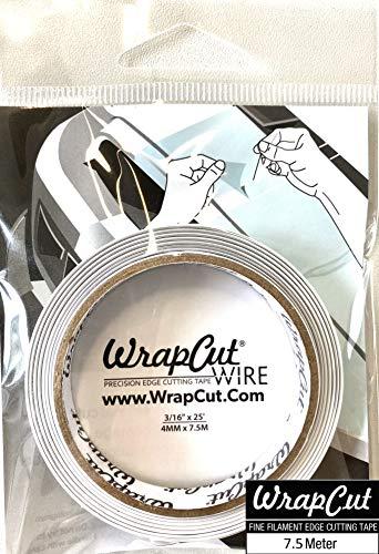 WrapCut-Wire Schneidedraht 7,5m x 4mm, Schneidet Dicke Folien (PU, PVC, etc.) ohne Cutter. Schont den Lack (2)