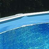 Gre Liner Azul para Piscina Ovalada 1000 x 550 x 132 cm, Blanco, FPROV1028