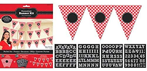 Amscan Picnic Party Personalized Pennant Banner Kit