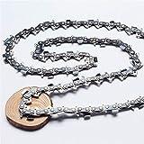 L-MEIQUN, Chiansaw Ketten 24'Zoll 60cm Länge 3/8' 1.6mm 0,063 84dl Chains