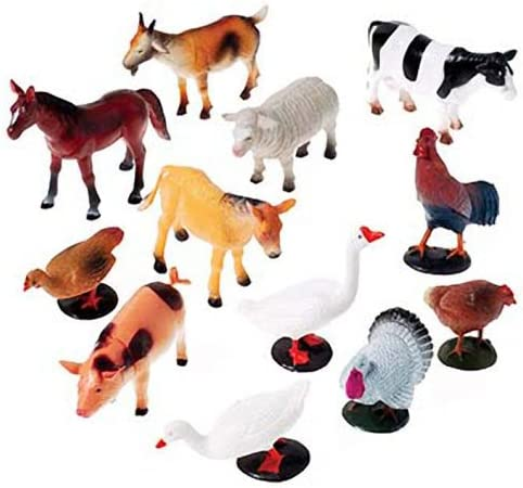 DollarItemDirect Toy Farm 25% OFF Animals NEW 3 in.-5 Sold Dozens in by 6