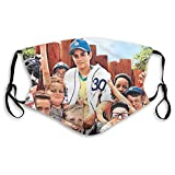 Danio Balaclava Face Mask with Filter The Sandlot (1993) Russian DVD Movie Cover Black