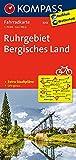 KOMPASS Fahrradkarte Ruhrgebiet - Bergisches Land: Fahrradkarte. GPS-genau. 1:70000 (KOMPASS-Fahrradkarten Deutschland, Band 3053)