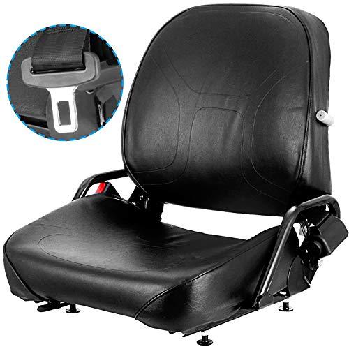 Universal Forklift Seat Komatsu Style Folding Forklift Seat