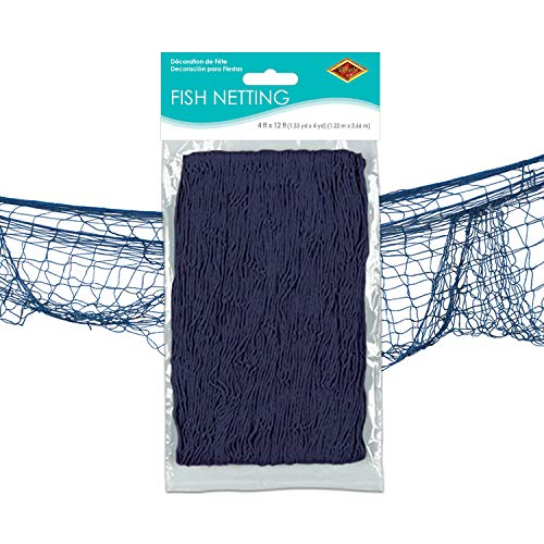Beistle Decorative Fish Netting, 4 by 12-Feet