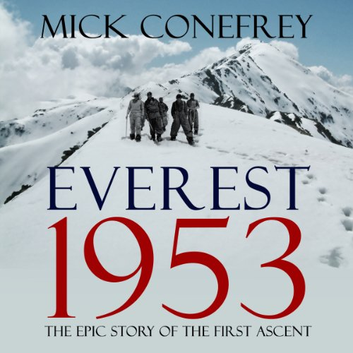 Everest 1953 audiobook cover art