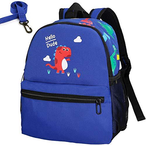 RUI NUO Children's Backpack Anti Lost Kids Backpack Mini School Bag for Baby Boys Girls - Blue - M