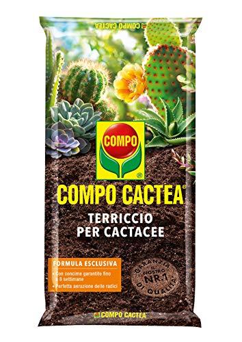 COMPO CACTEA Terriccio per Cactacee, Per una crescita omogenea delle piante, 5 l