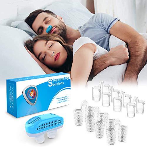 Schnarchstopper,Anti Schnarch Nasenclip - Schnarchen Stopper Nasenspreizer,Verhindern Sie Effektiv das Schnarchen und Lassen Sie über Nacht Schlafen (9 Stück)