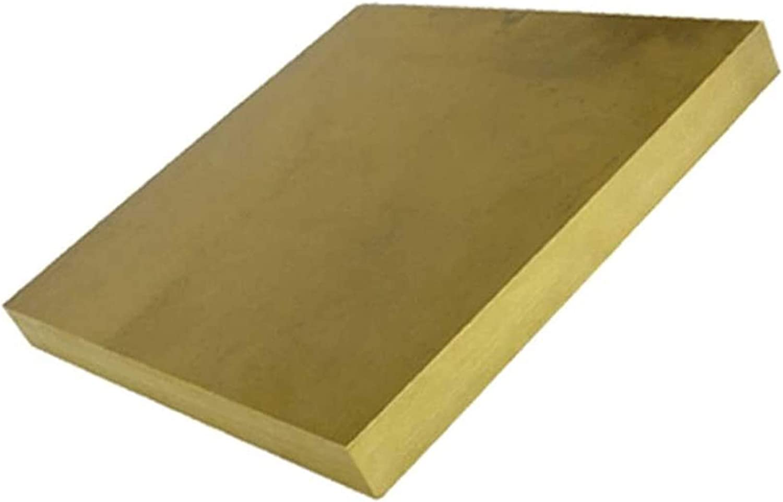 HAOKTSB Brass Plate Sheet Block Ranking TOP6 Flat Surprise price Copper T Square