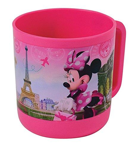 FUN HOUSE 005472Disney Minnie Tazza/Tazza Microonde per Bambini Polipropilene Rosa 10, 5x 8, 7x 8, 2cm