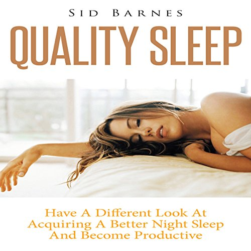 Quality Sleep audiobook cover art