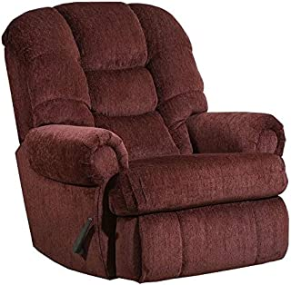 Lane Stallion Big Man (Extra Large) Comfort King Wallsaver Recliner in Torino Wine. Rated for Up to 500 Lbs. Ext. Length. ...