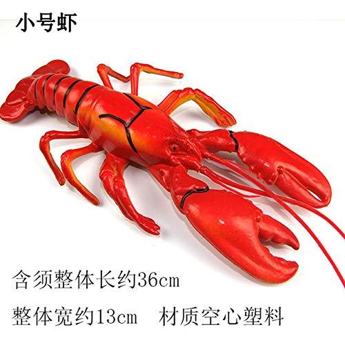 Xinger Fake Food Photography Prop Decor Levensechte kreeft Model Decor Kunstmatig voedsel Creatieve realistische krab, kleine kreeft